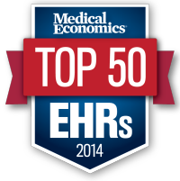 PracticeStudio - Medical Economics Top 50 EHR's for 2014